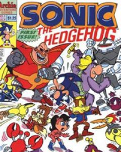Sonic The Hedgehog (1993) Comic