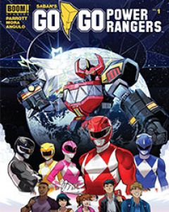 Read Saban's Go Go Power Rangers comic online